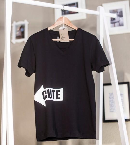 """Shirt """"Cute"""" Man - Hingucker auf der Straße"""